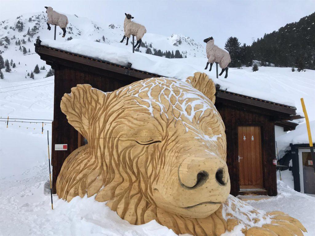 Siesta im Schnee
