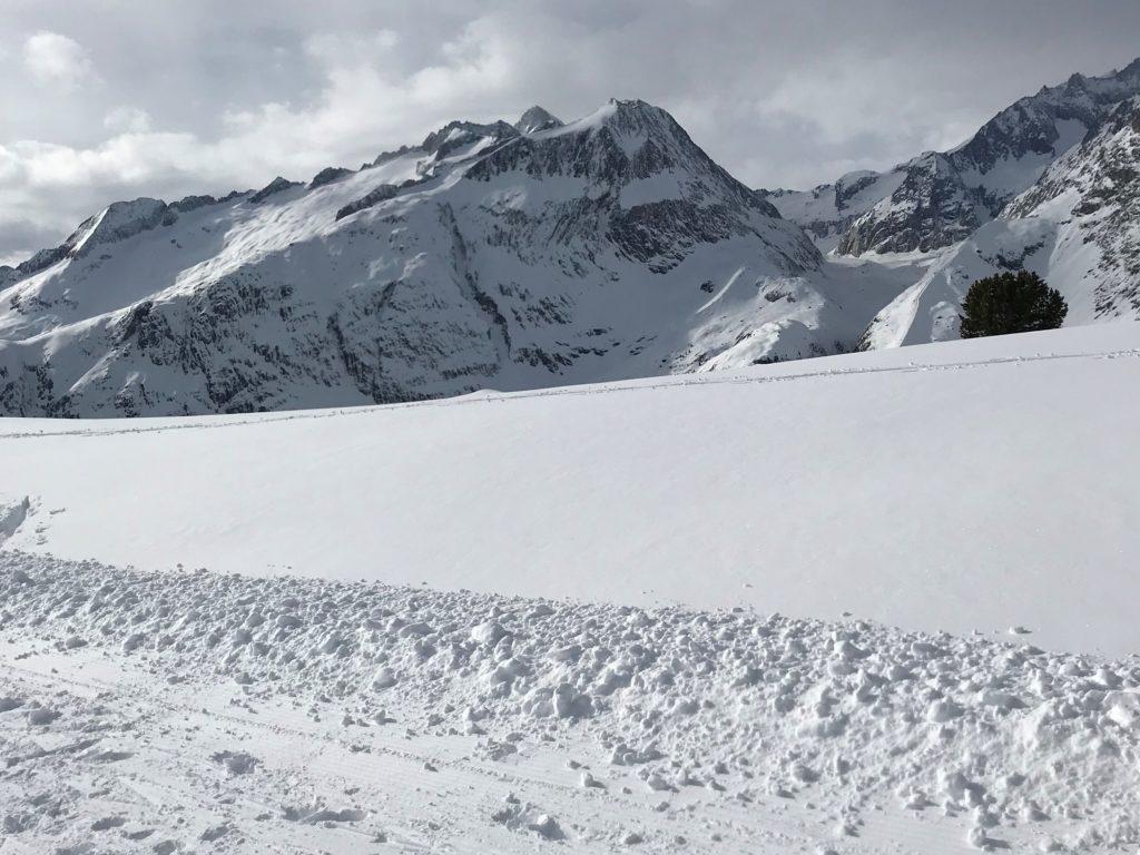 Schnee soweit das Auge reicht.....