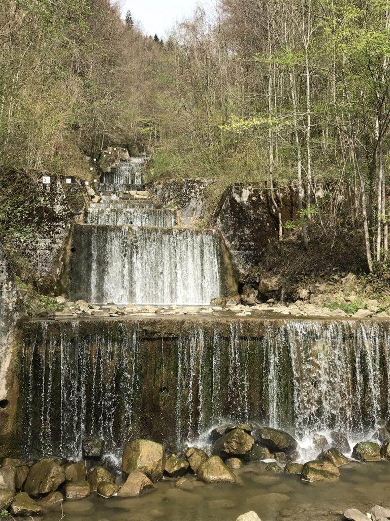 kleiner Wasserfall Schwandbach
