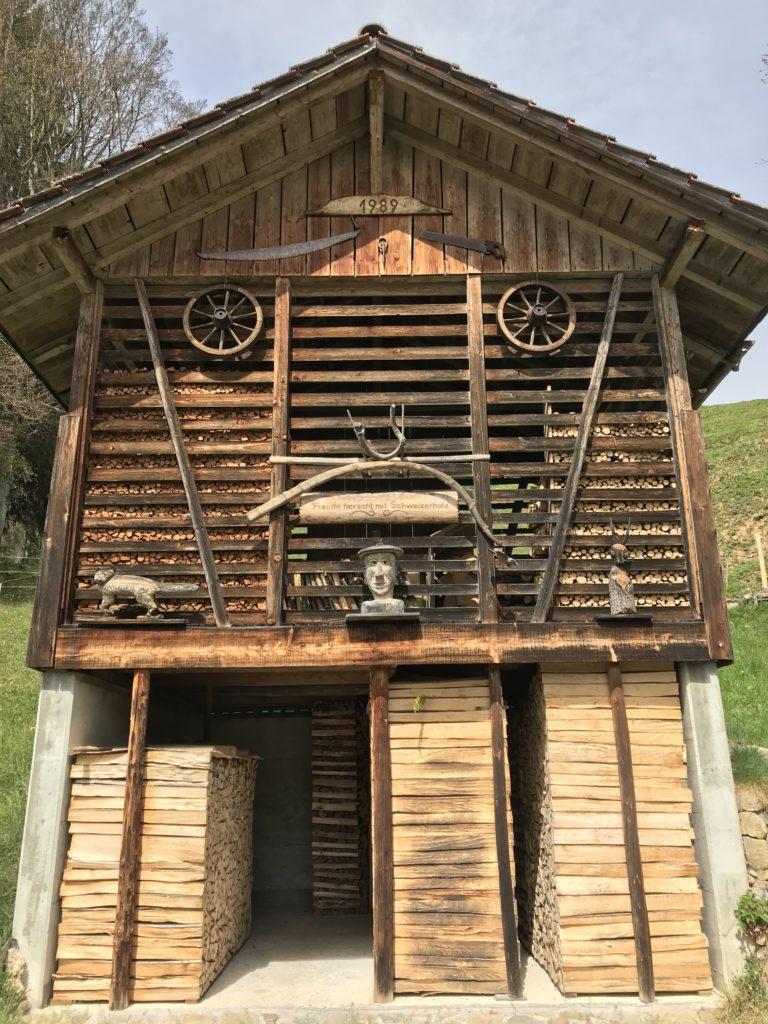 renovierter Holzspeicher
