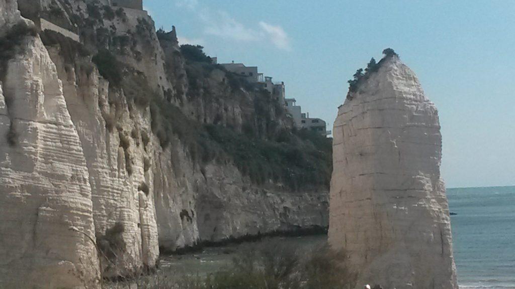 Vieste, imposanter Pizzomunno-Kalksteinmonolith