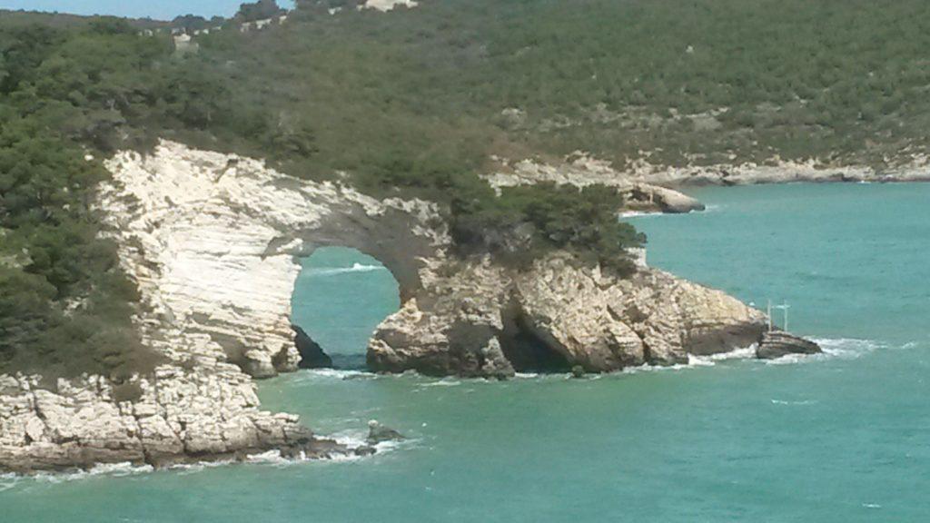 Vieste, Felsbogen Arco di San Felice