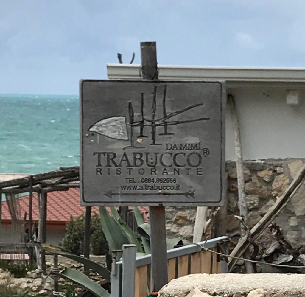 Punta San Nicola di Peschici, Ristorante  Trabucco da Mimì