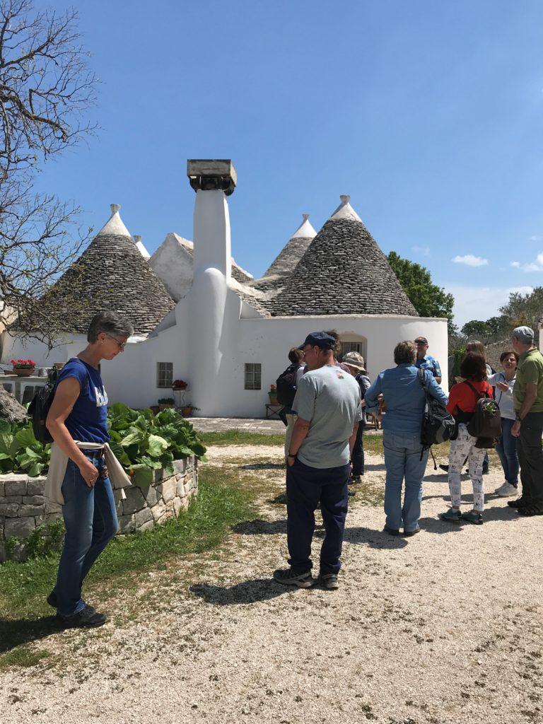 Masseria d'Aprile, Trulli-Gästehäuser