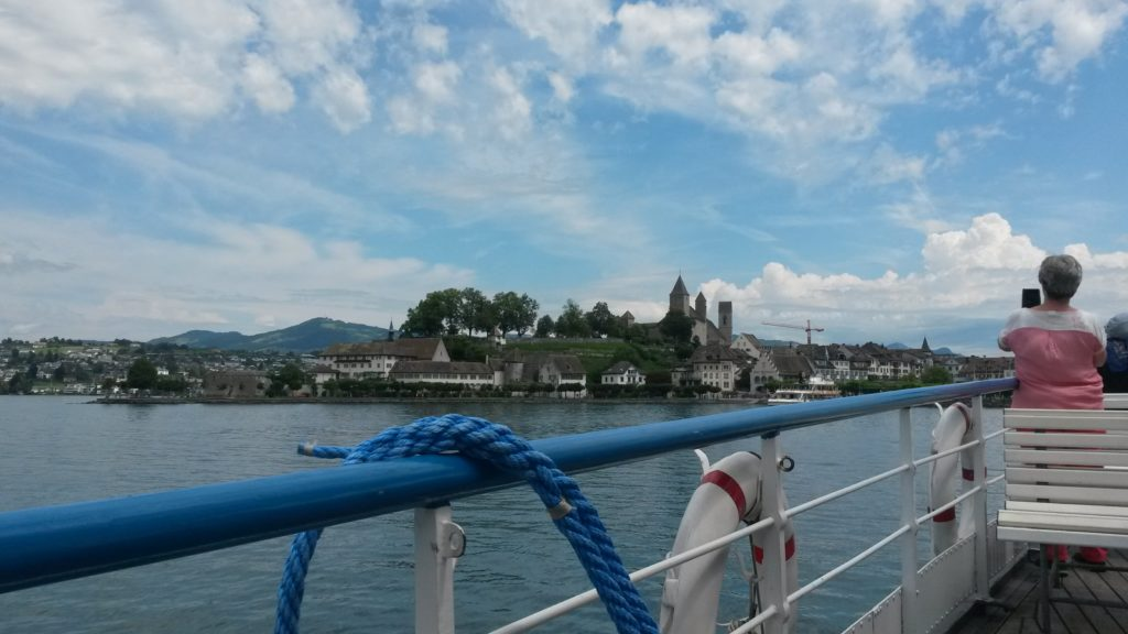 Blick nach Rapperswil