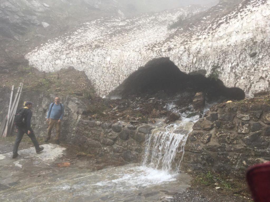 Wanderung Tuass - Schmelzwasser