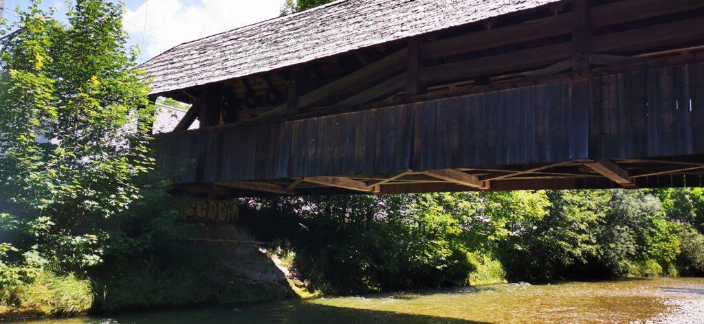 Holzbrücke bei Trubschachen im Emmental
