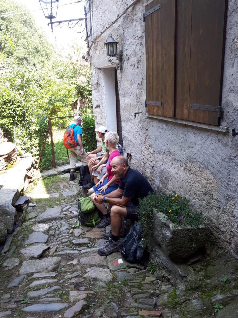 Carmine Superiore - Aufbruch in Richtung Cannobio