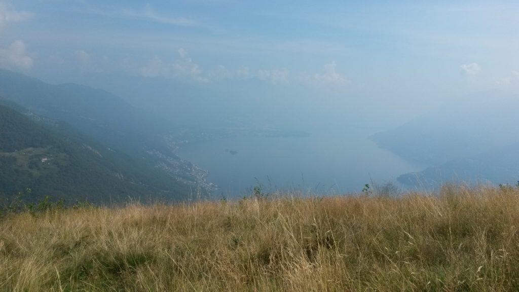 Monte Giove - Weitblick auf den Lago Maggiore