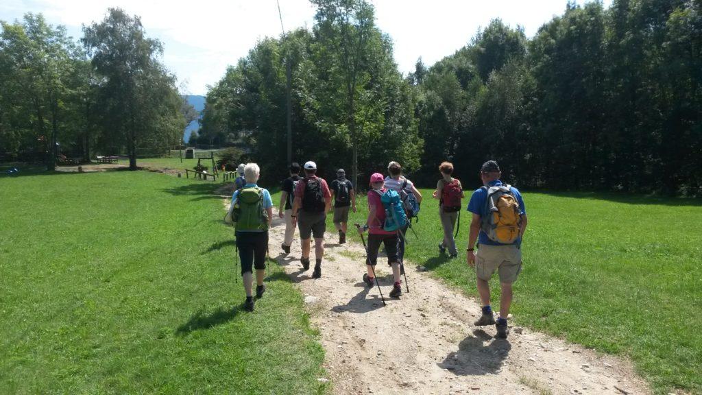 Pollino - auf der Wanderung Richtung SANTUARIO TRINITÀ DI GHIFFA