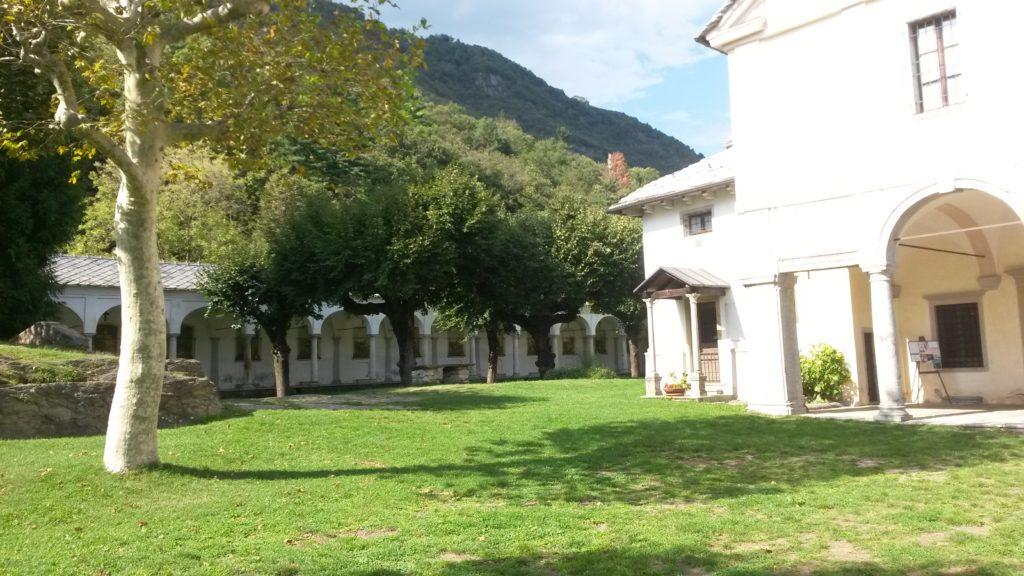 Wallfahrtsort SANTUARIO TRINITÀ DI GHIFFA