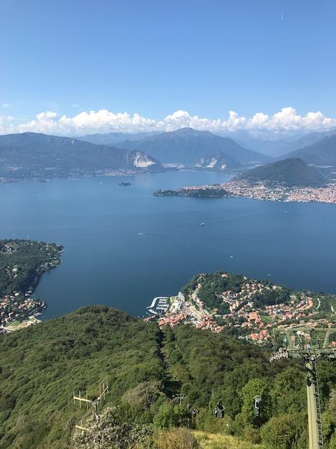 SASSO DEL FERRO - Blick auf den Lago Maggiore