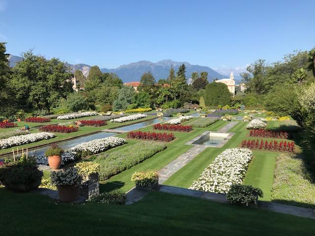 Villa Taranto - Blumen soweit das Auge reicht.....
