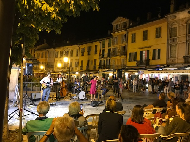 Cannobio - stimmiges Platzkonzert am 24.08.2019