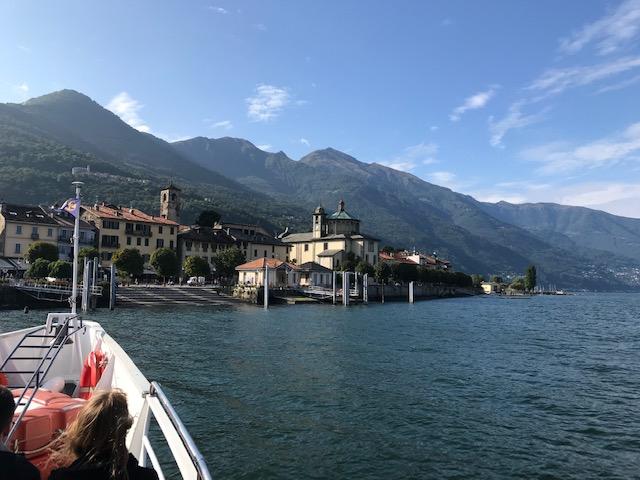 abendliche Schifffahrt - Heimkehr von Luino nach Cannobio
