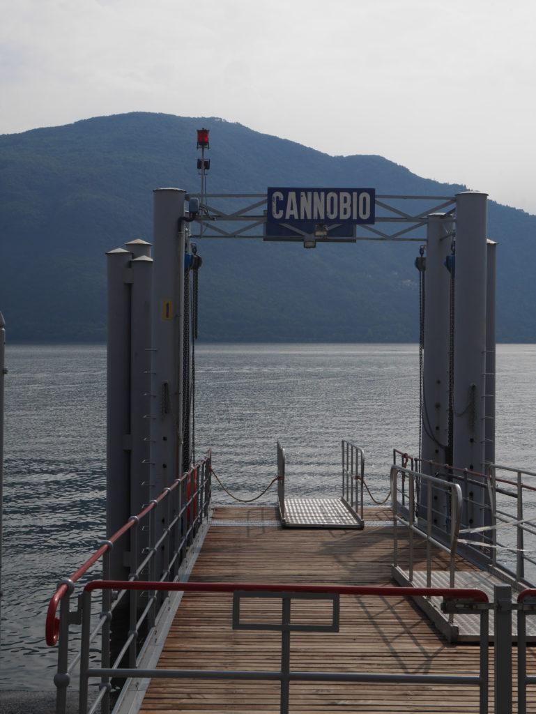 Cannobio Schiffstation - Abschiedsstimmung