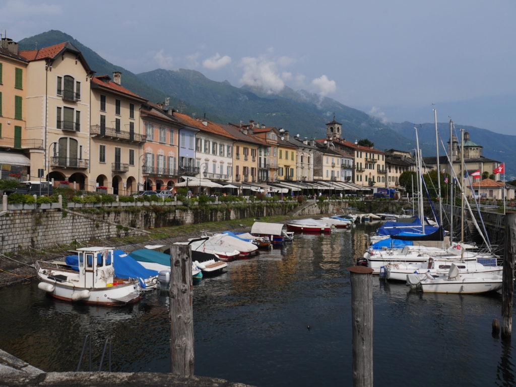 Cannobio am Lago Maggiore - Bootshafen