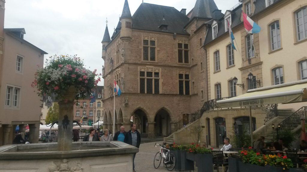 Echternach ist auch bekannt als die kleine luxemburgische Schweiz.