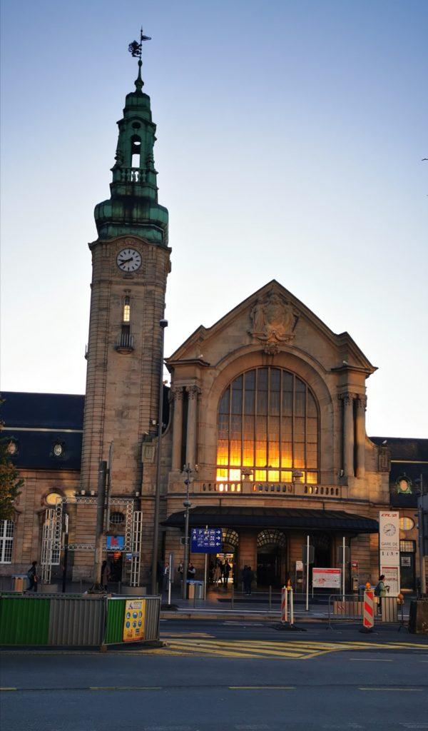 Luxemburg Stadt, Bahnhofgebäude