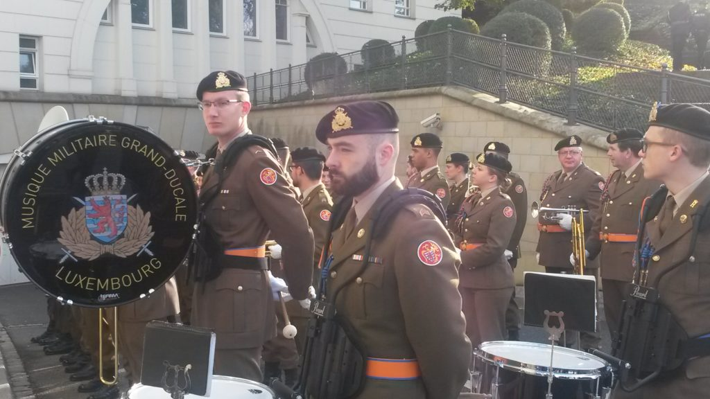 Militärparade zum Gedenktag an den Holocaust im 2. Weltkrieg