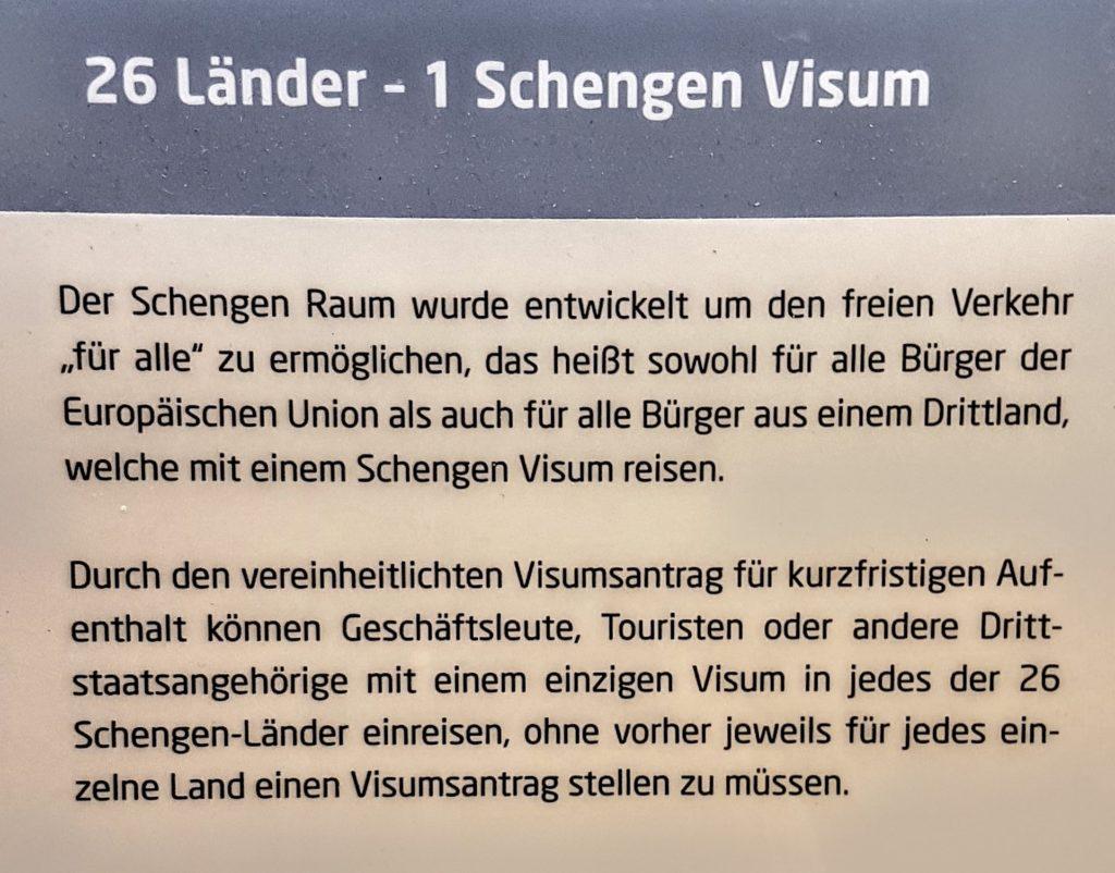 Schengener Abkommen zur Abschaffung der stationären Kontrollen an den Binnengrenzen der teilnehmenden Staaten.