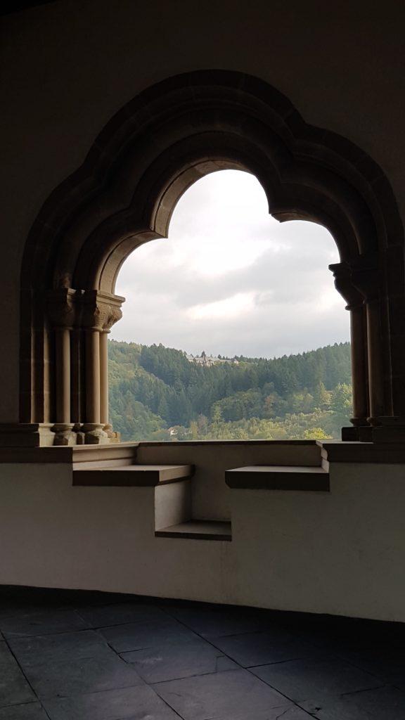 Schloss VIANDEN, Ausblick von der Bysantinischen Galerie