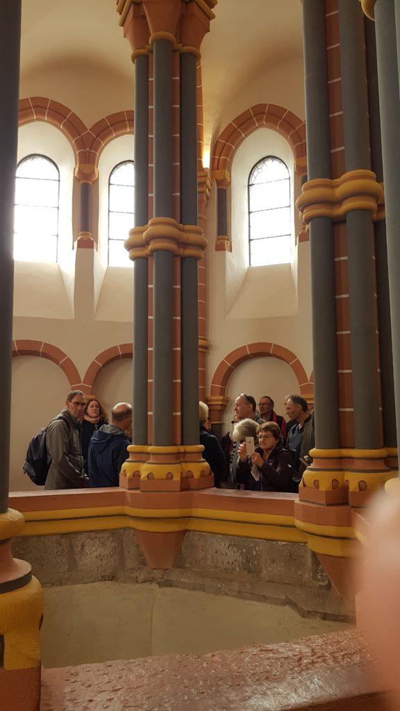 Schloss VIANDEN, untere Kapelle