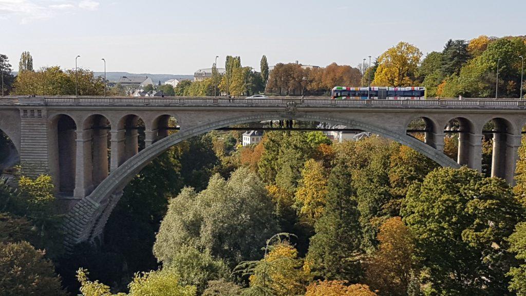 Viadukt über dem Pétrussethal