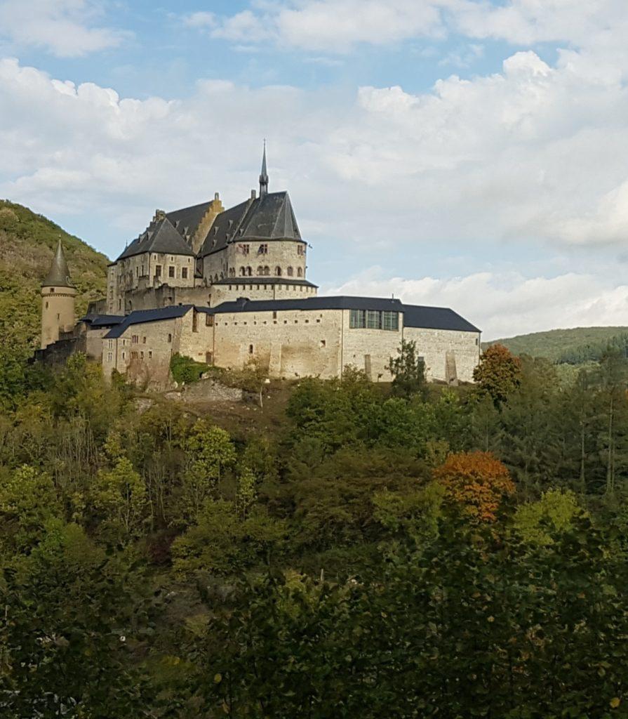 erhabenes Schloss VIANDEN