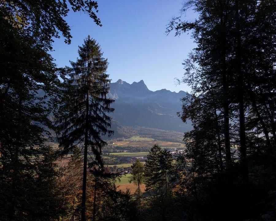 WALSA-Weg: Blick nach Süden