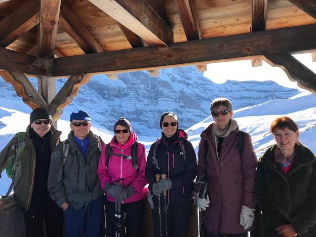 Aussichts-Hochstand auf der Kleinen Scheidegg