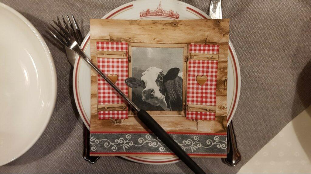 Käsefondue-Plausch im Restaurant Spycher in Interlaken