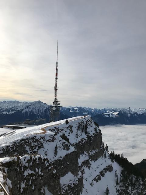 Niederhorn mit Antenne
