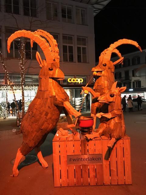Wappentiere Interlaken