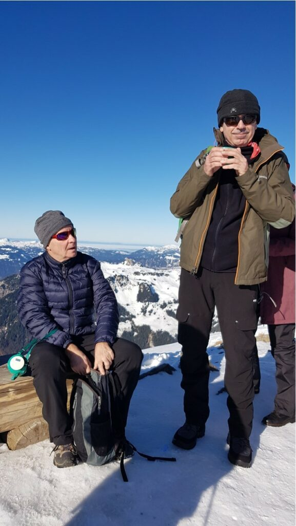 tea time auf dem Männlichen-Gipfel