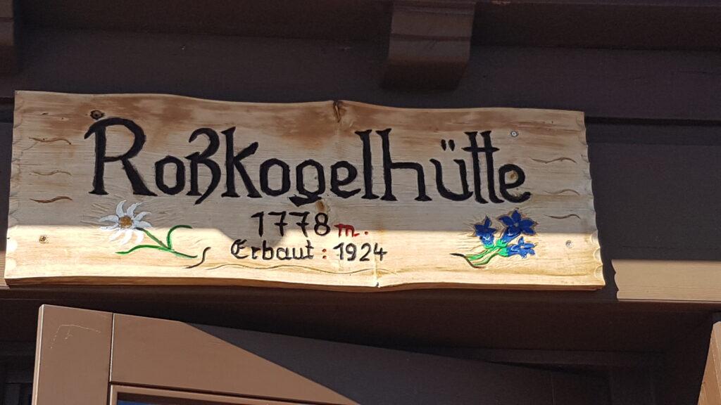 auf der Rosskogel-Hütte