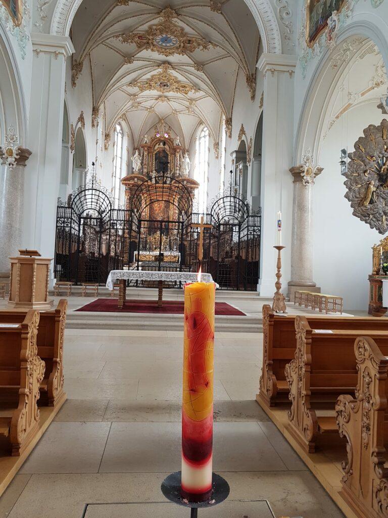 Innenraum des Klosters Mariastein - 19.04.2020