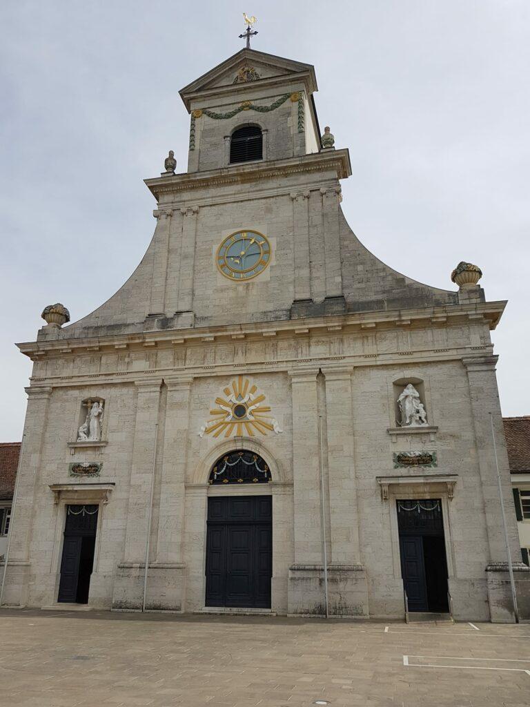 Das Kloster Mariastein ist eine Benediktinerabtei der Gemeinde Metzerlen-Mariastein - 19.04.2020