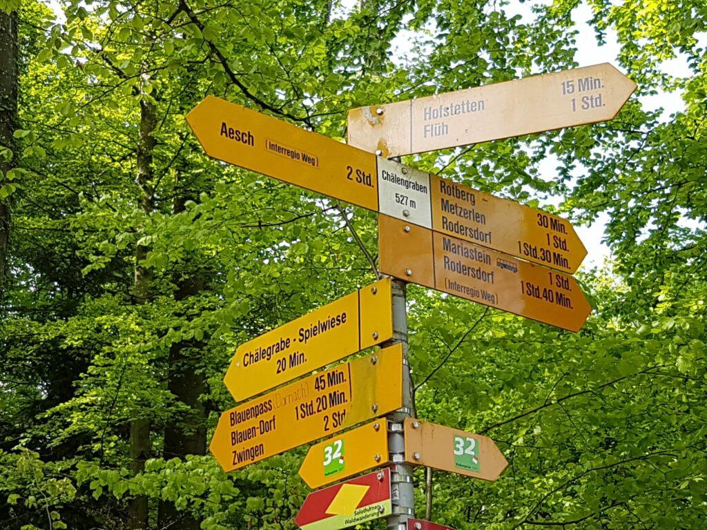 Wanderwege in alle Richtungen - 19.04.2020