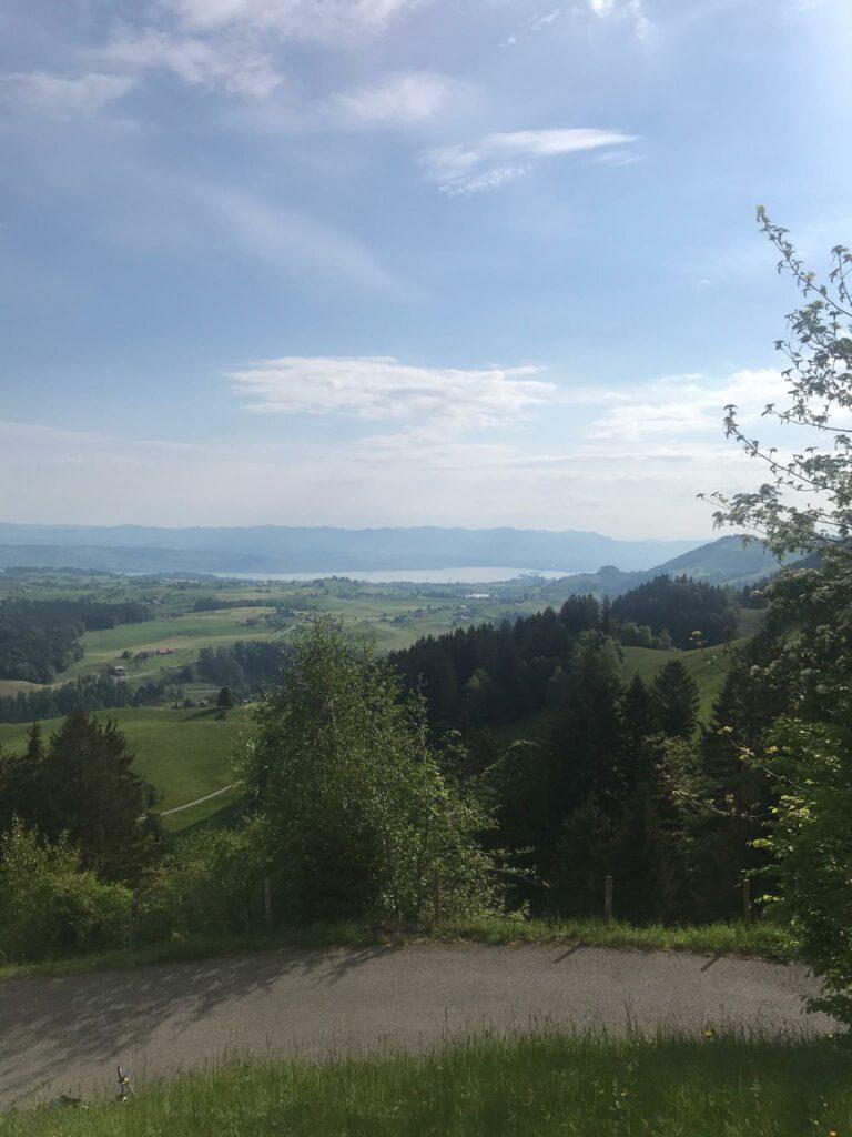 Biketour Raten: Sicht auf den Zürichsee - 09.05.2020