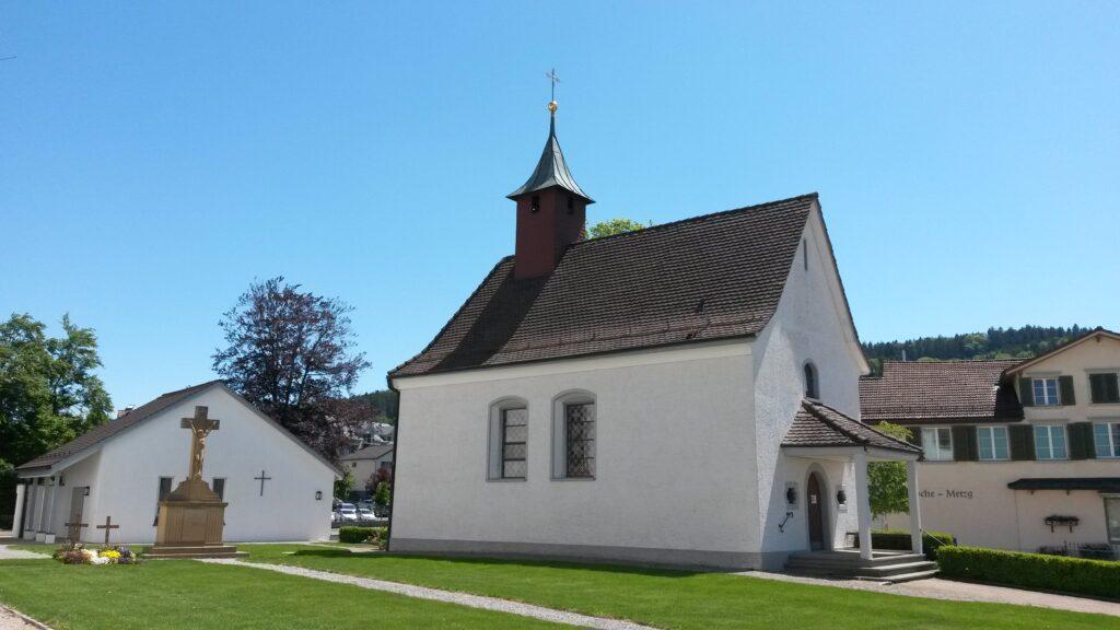 Kapelle neben der Kirche St. Blasien in Waldkirch, Regina - 21.05.2020