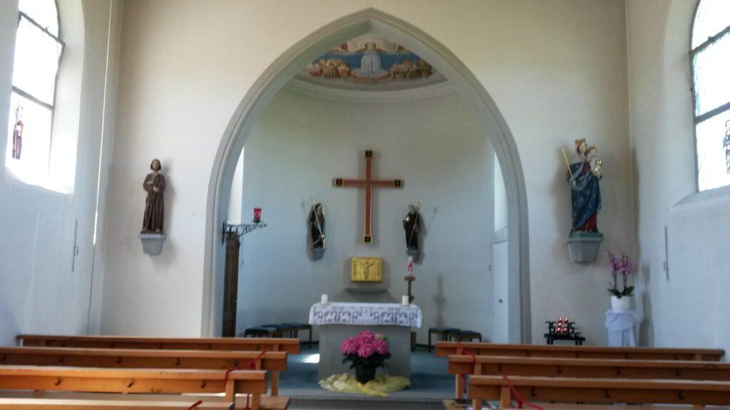 Innenraum der Kapelle Maria-Hilf in Waldkirch, Regina - 21.05.2020