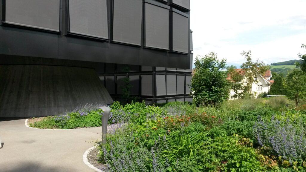 Gebäude der Helvetia Versicherung erbaut von den Architekten HERZOG UND DE MEURON, Regina - 30.05.2020