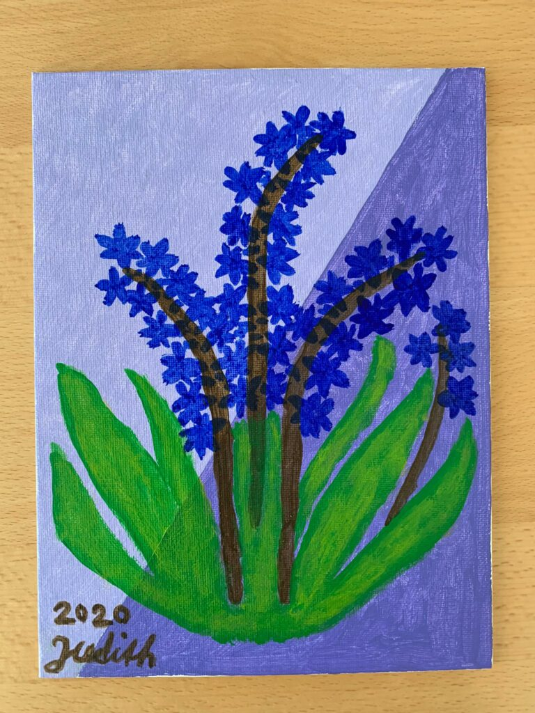 Blütenblau- Judith 2020