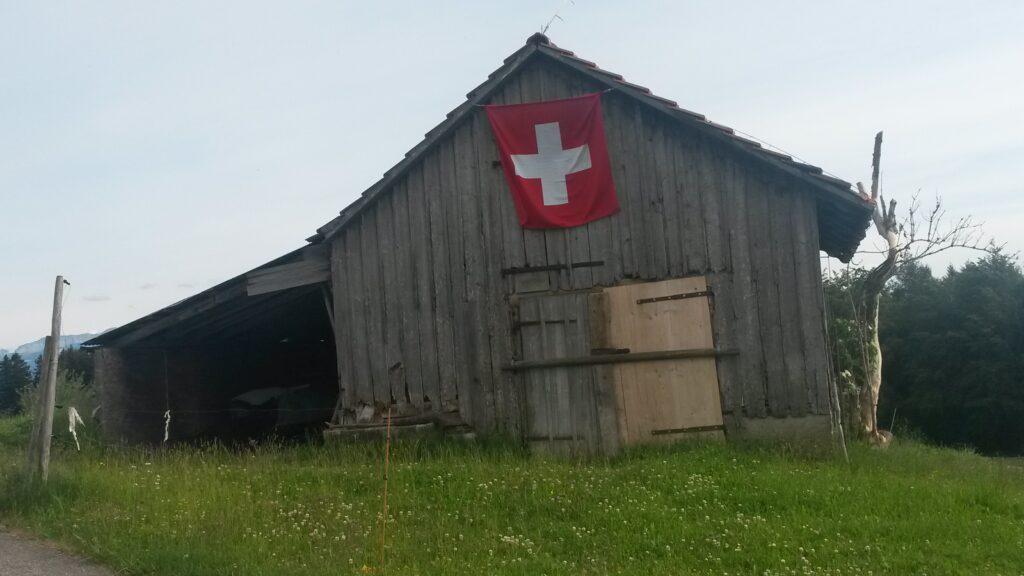 alte Stallung auf dem Aetschberg oberhalb Abtwil SG, Regina - 31.05.2020