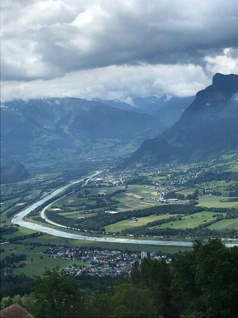 Blick ins Rheinthal