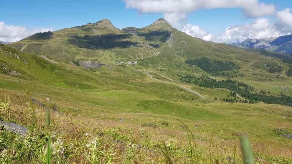 auf dem Eigertrail Richtung Alpiglen