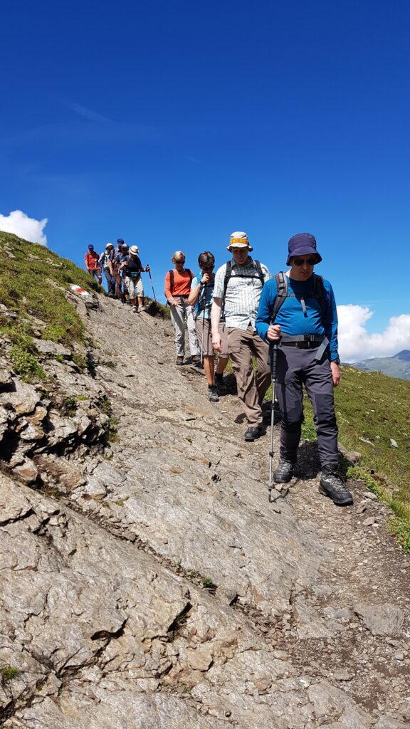 auf dem Abstieg nach Alpiglen
