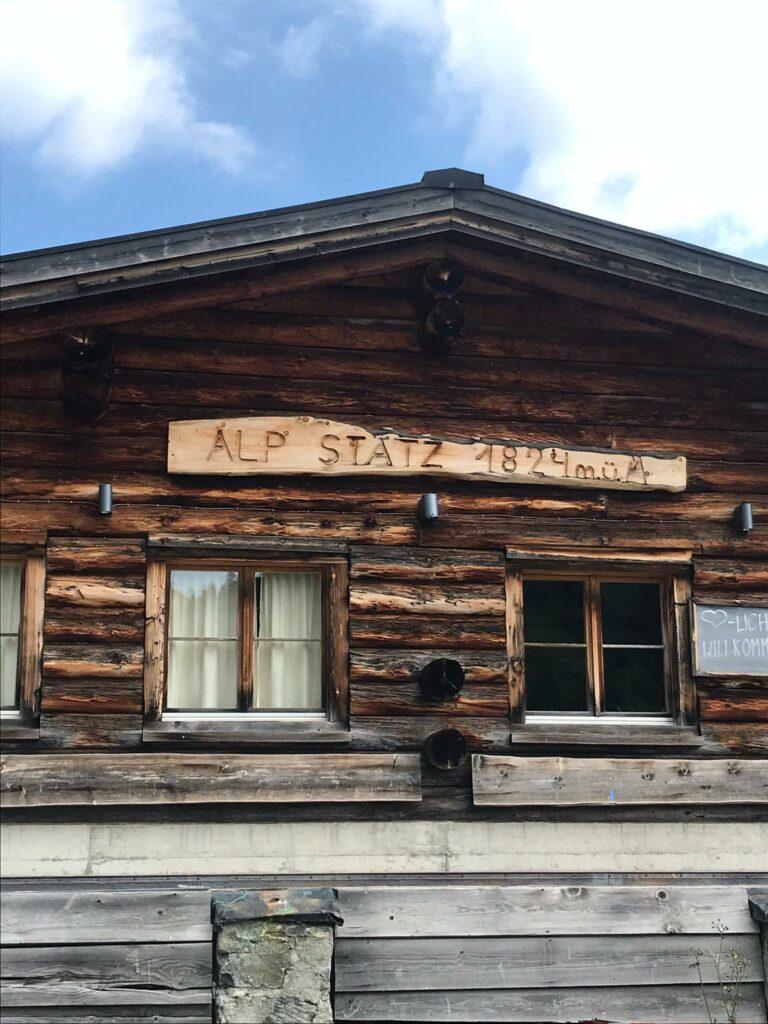 Bergrestaurant ALP STÄTZ