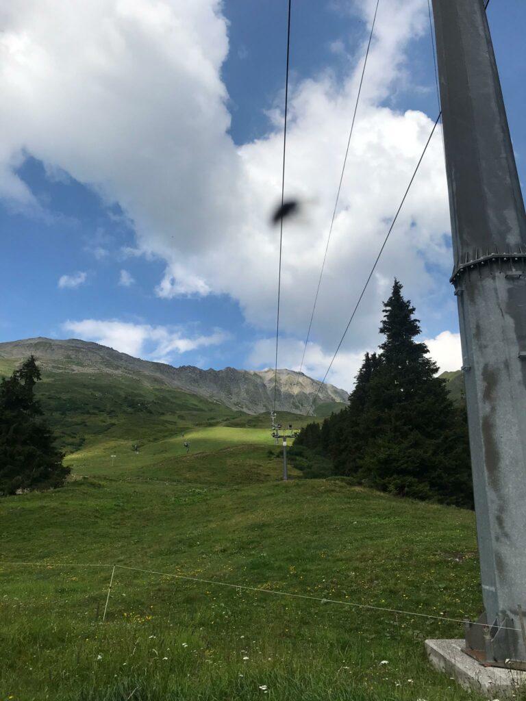 Bergbahn zum PIZ SCALOTTAS